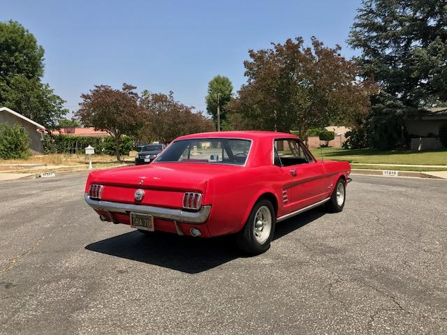 Ford-Mustang coupé red 1966 #31