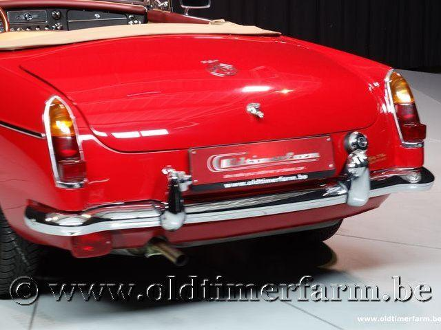 MG B Roadster Red '67 #91