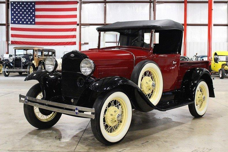 1931 Ford Model A #0