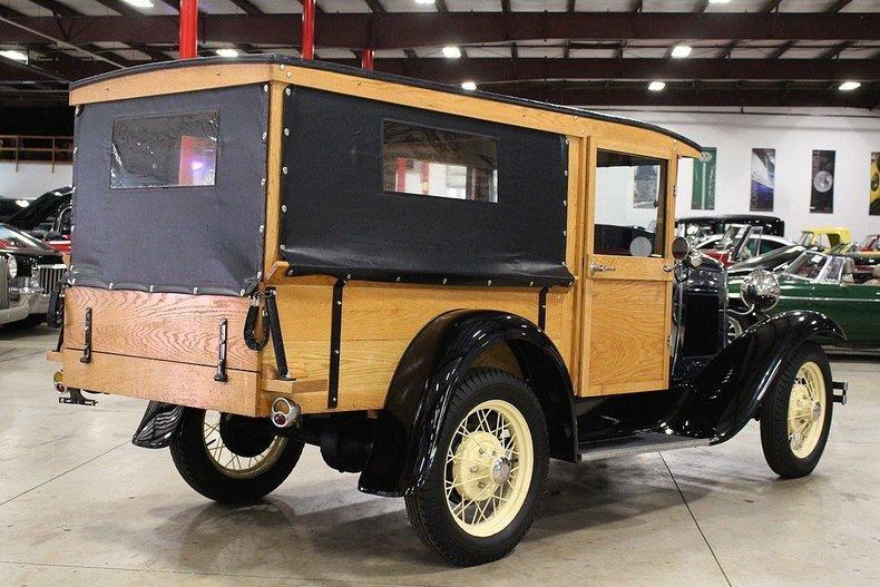 1931 Ford Model A Huckster #4