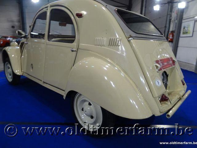 Citroën 2CV 4x4 Sahara '62 #34