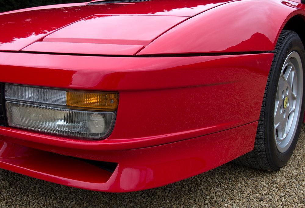 1988 Ferrari Testarossa RHD Rosso Corsa with Blu Scuro #9