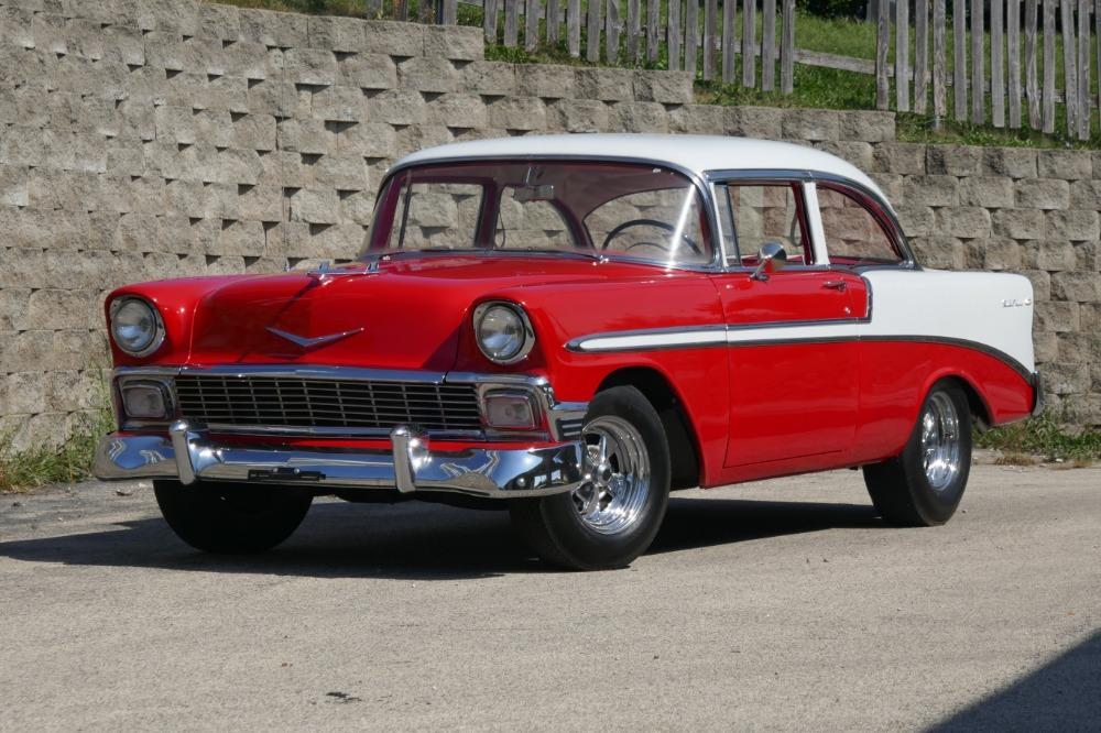 1956 Chevrolet Bel Air -RESTORED SOUTHERN BEL AIR TRI FIVE- GREAT CONDITION-SEE VIDEO Stock # 28356WAC for sale near Mundelein, IL | IL Chevrolet Dealer #0