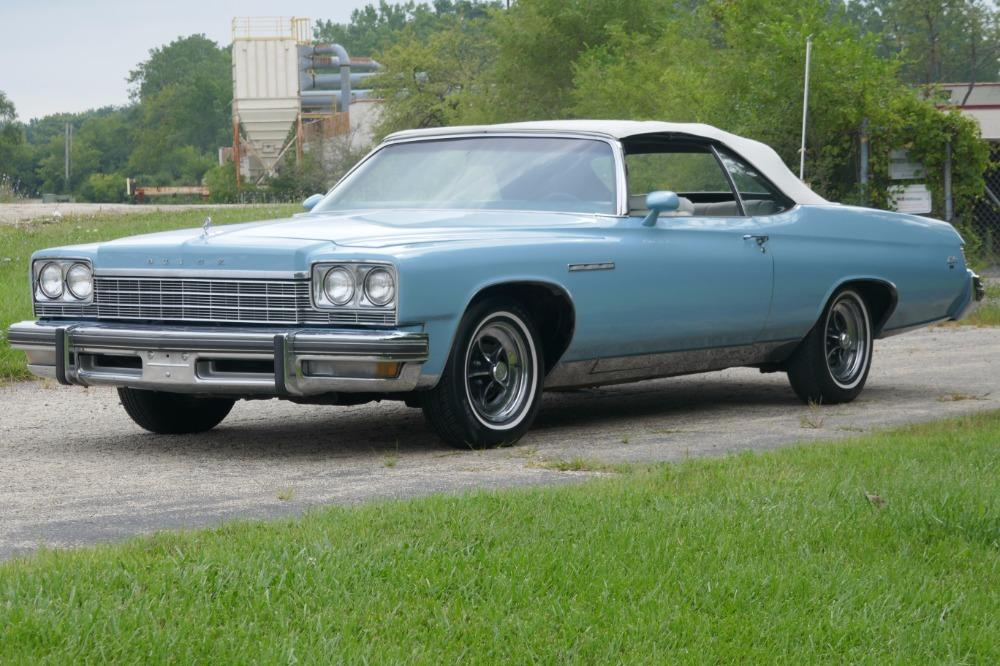 1975 Buick LeSabre -PRICE DROP - CONVERTIBLE -SUPER LOW MILES- NEW PAINT 2017-SEE VIDEO Stock # 75ILKF for sale near Mundelein, IL | IL Buick Dealer #0