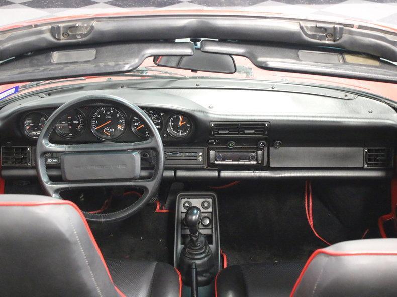1988 Porsche 911 Turbo Cabriolet #44
