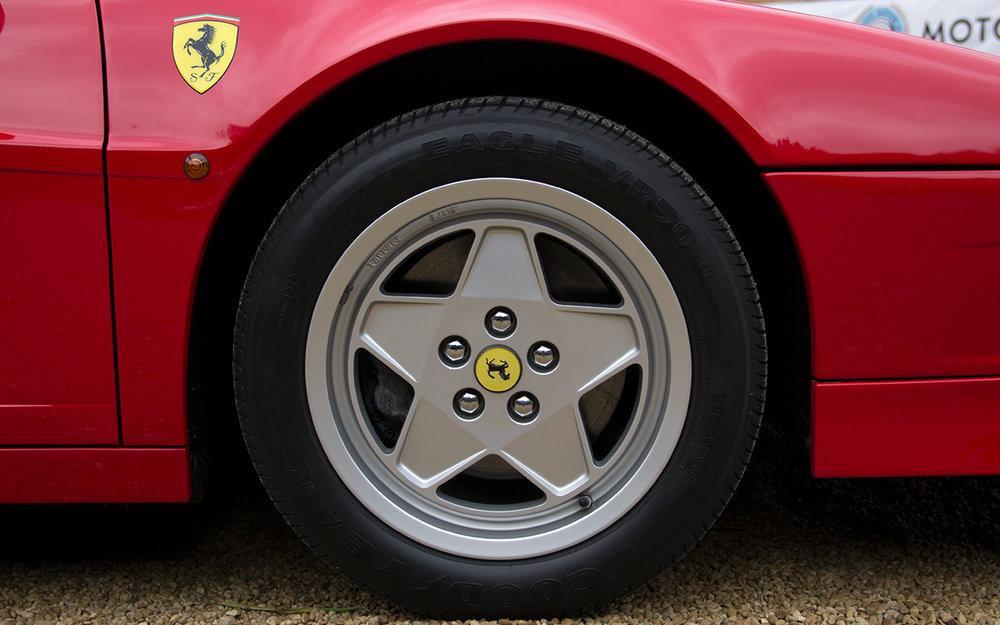 1988 Ferrari Testarossa RHD Rosso Corsa with Blu Scuro #49