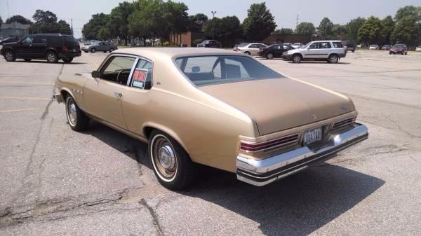 1974 Buick Apollo SWEET DRIVER Stock # 10574IOCC for sale near Mundelein, IL | IL Buick Dealer #7