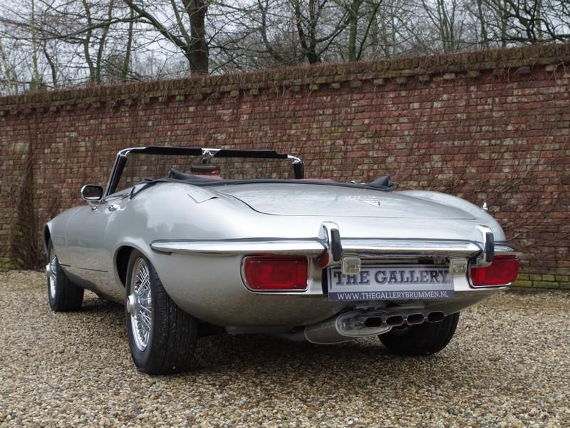 Jaguar E-type series 3 V12 convertible manual gearbox, with factory AC (1973) #42