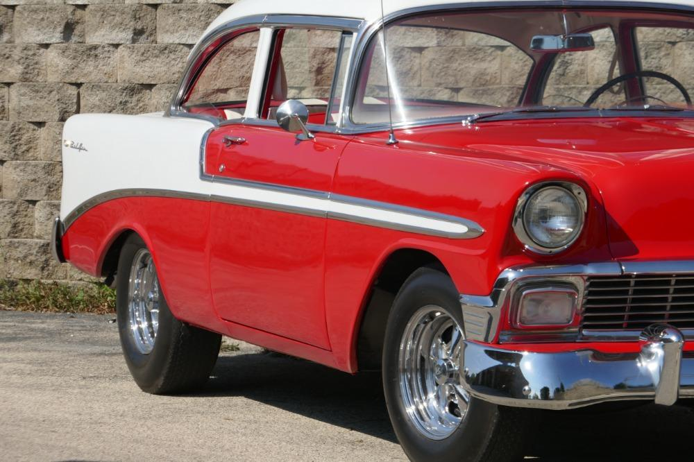 1956 Chevrolet Bel Air -RESTORED SOUTHERN BEL AIR TRI FIVE- GREAT CONDITION-SEE VIDEO Stock # 28356WAC for sale near Mundelein, IL | IL Chevrolet Dealer #12