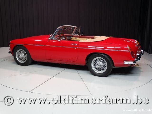 MG B Roadster Red '67 #14