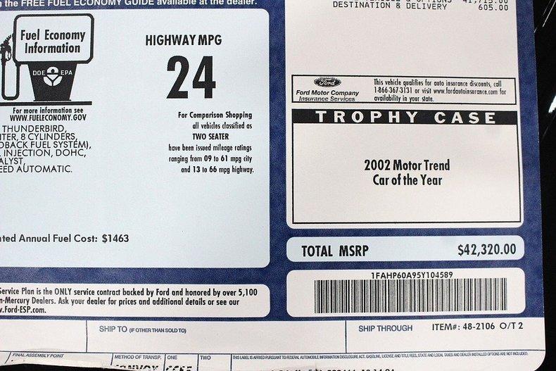 2005 Ford Thunderbird #28