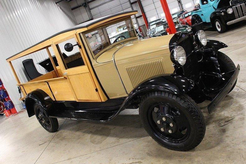 1931 Ford AA Huckster #76