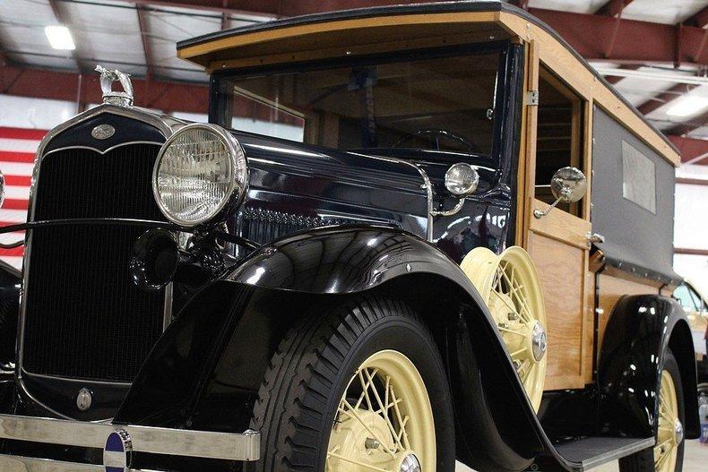 1931 Ford Model A Huckster #24