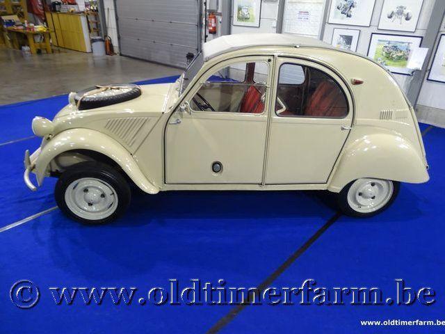 Citroën 2CV 4x4 Sahara '62 #8