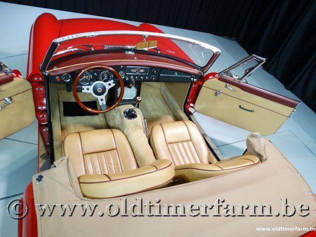 MG B Roadster Red '67 #141