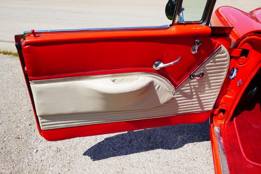 1955 Chevrolet Bel Air -BIG BLOCK-PERFECT COLOR COMBO-NEW ARRIVAL-SEE VIDEO Stock # 156NSC for sale near Mundelein, IL   IL Chevrolet Dealer #37