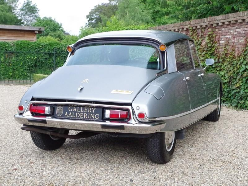 CITROËN DS21 PALLAS INJECTION WITH SUNROOF AND MANUAL GEARBOX! . (1970) #9