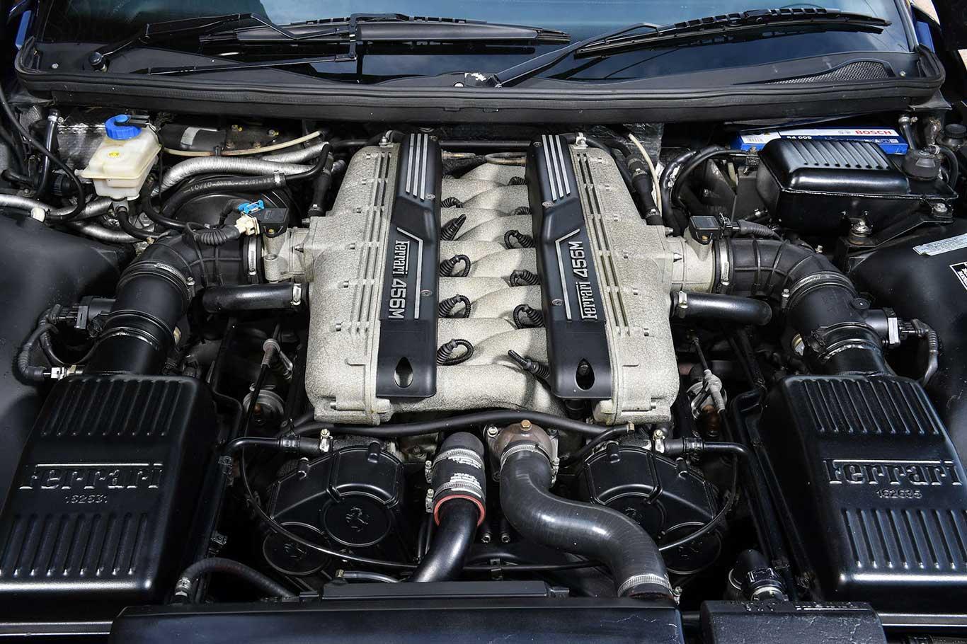 2003 Ferrari 456M GTA RHD #9