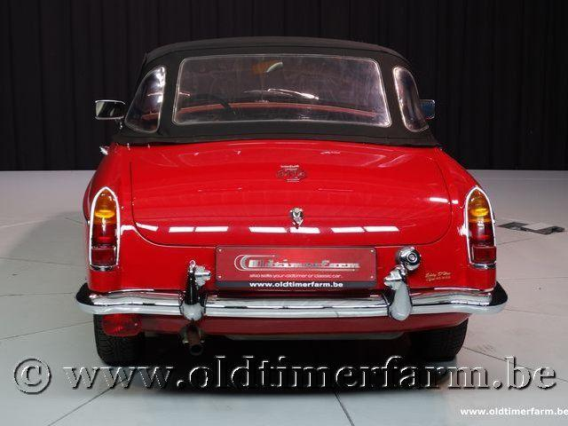 MG B Roadster Red '67 #195