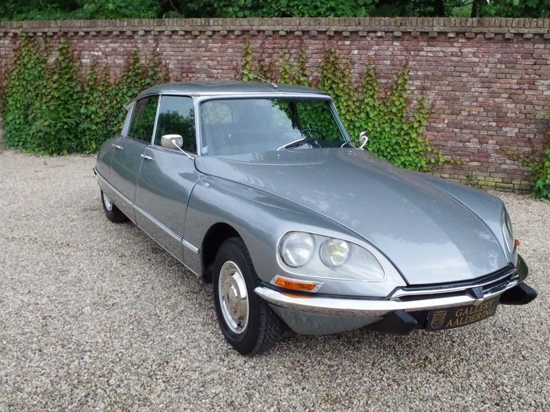 CITROËN DS21 PALLAS INJECTION WITH SUNROOF AND MANUAL GEARBOX! . (1970) #81