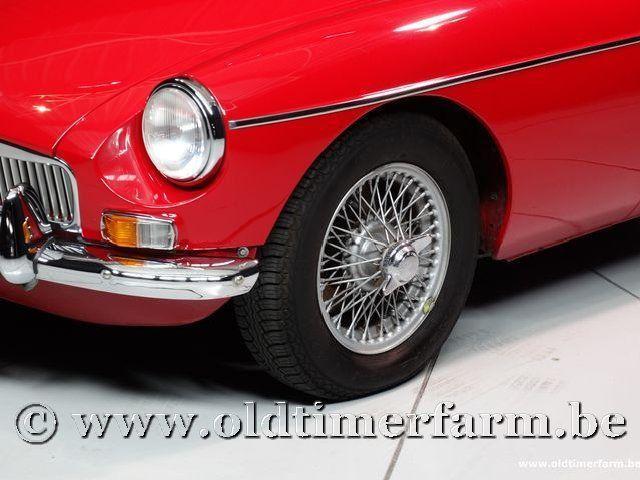 MG B Roadster Red '67 #114