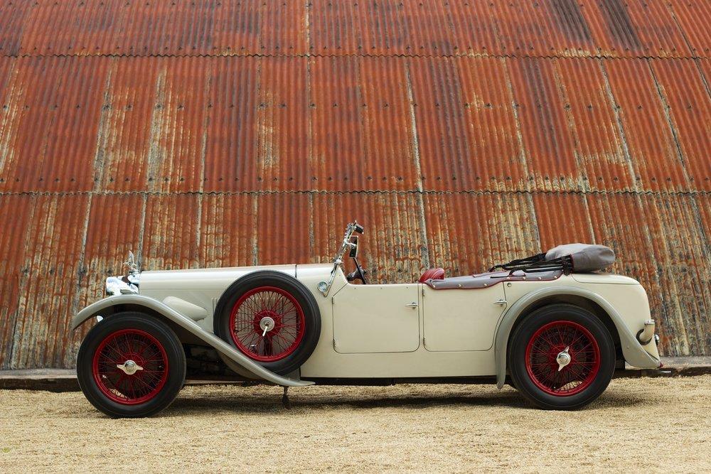 1932 Alvis Speed 20 SA 4-Door Tourer by Cross & Ellis #2