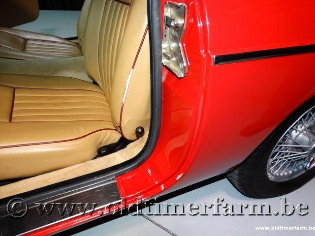 MG B Roadster Red '67 #193