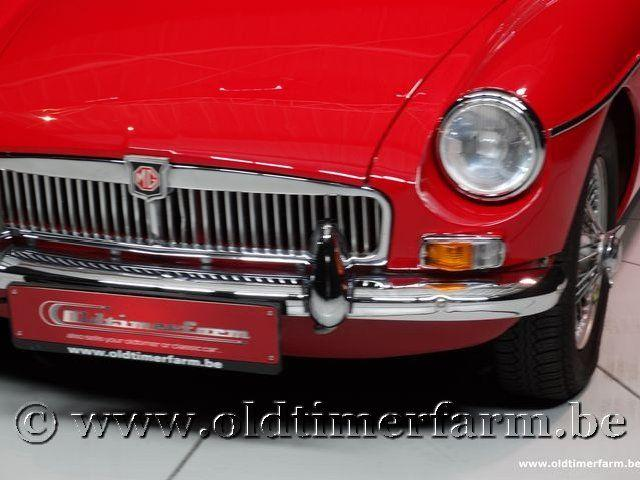 MG B Roadster Red '67 #112