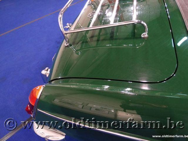 MG B Roadster Green '66 #80