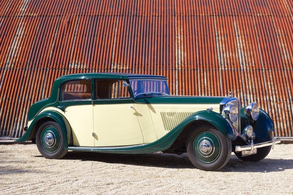 1935 Bentley 3½ Litre Saloon by Freestone & Webb #3