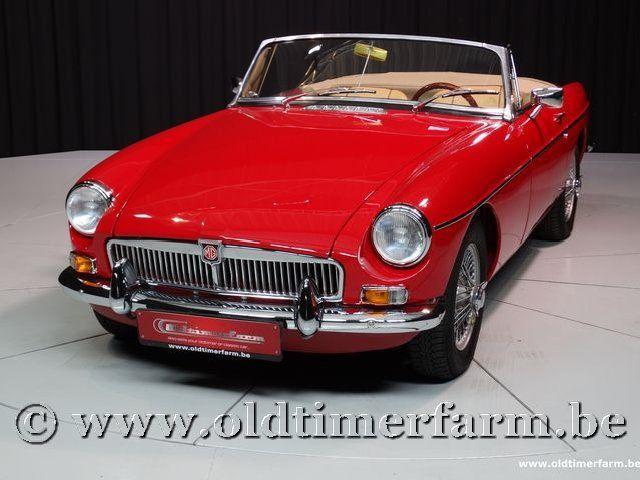 MG B Roadster Red '67 #86