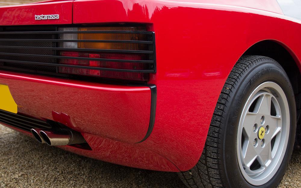1988 Ferrari Testarossa RHD Rosso Corsa with Blu Scuro #10