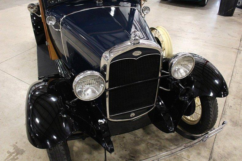 1931 Ford Model A Huckster #8