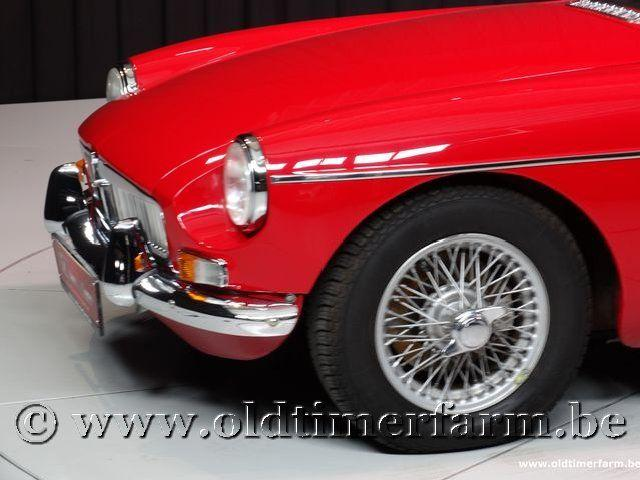MG B Roadster Red '67 #115
