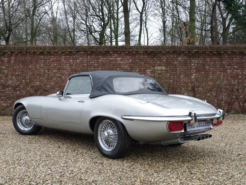 Jaguar E-type series 3 V12 convertible manual gearbox, with factory AC (1973) #35