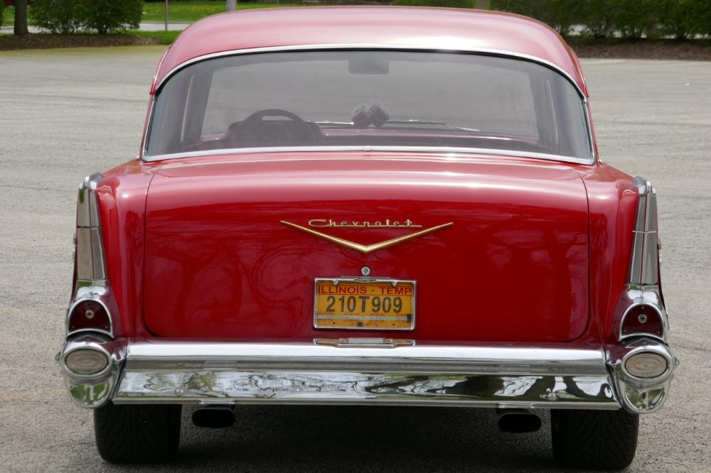 1957 Chevrolet 210 -HIGH END INVESTMENT-AMAZING PAINT AND QUALITY-TRI FIVE-NEW LOWERED PRICE - Stock # 57283CVJM for sale near Mundelein, IL | IL Chevrolet Dealer #3
