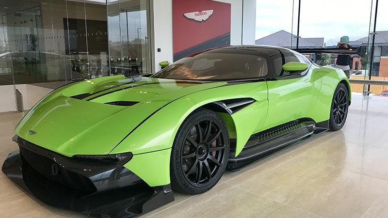 Aston Martin Vulcan (Vat Qualifying) #45