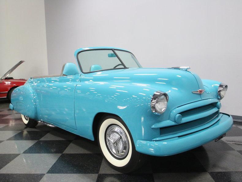 1949 Chevrolet Sedan Roadster #26