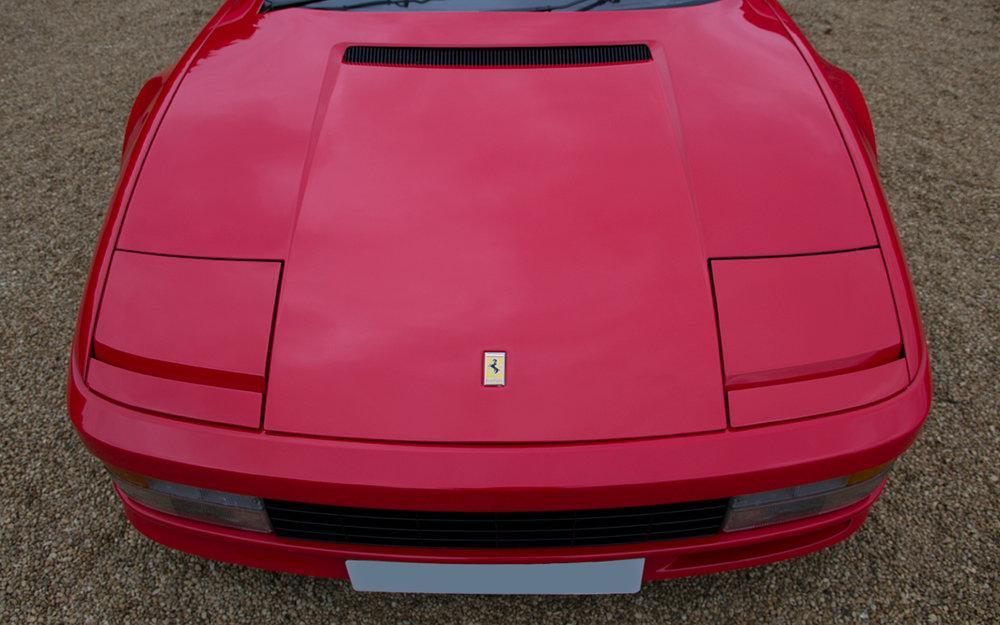 1988 Ferrari Testarossa RHD Rosso Corsa with Blu Scuro #8