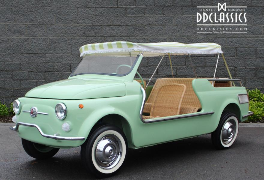 Fiat 500 Giardiniera Jolly 1962 #1