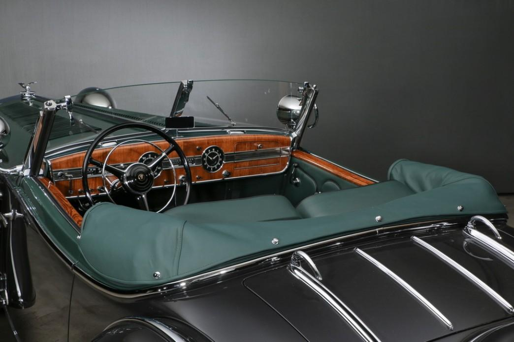 1938  Horch Horch 853 Spezialroadster #9