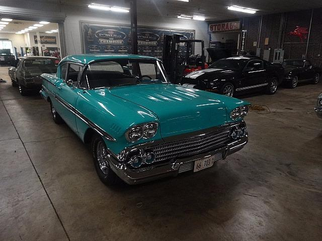 1958 Chevrolet Biscayne -RUNS PERFECTLY- Stock # 58350ILKF for sale near Mundelein, IL | IL Chevrolet Dealer #1
