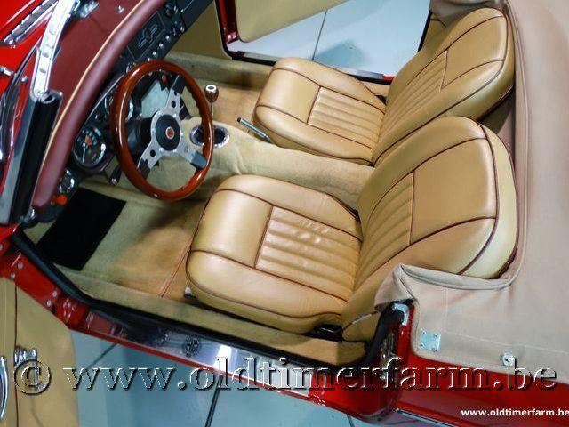 MG B Roadster Red '67 #145