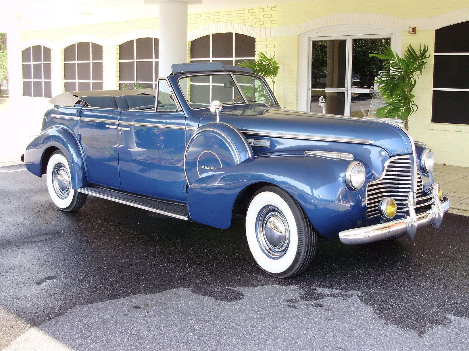 1940 BUICK CENTURY CONVERTIBLE SEDAN - Vintage Motors of Sarasota Inc. #8