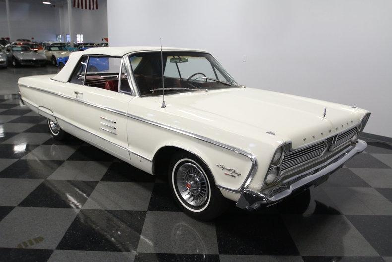 1966 Plymouth Sport Fury Convertible #26