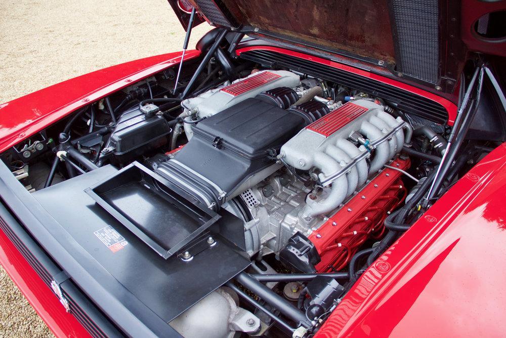 1988 Ferrari Testarossa RHD Rosso Corsa with Blu Scuro #34