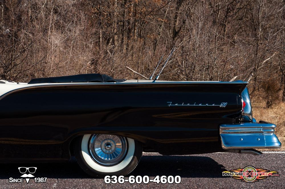 1957 Ford Fairlane 500 Sunliner Restomod #50