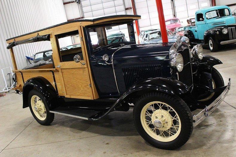 1931 Ford Model A Huckster #78