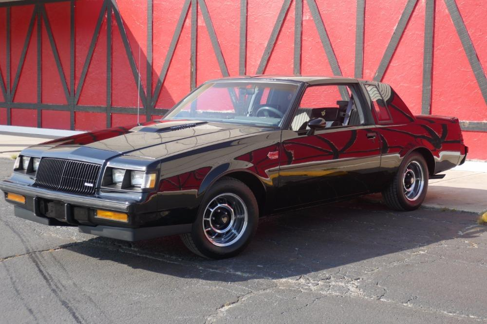 1987 Buick Grand National -ONE OWNER WITH 44k MILES -T-TOPS- SEE VIDEO Stock # 3887JC for sale near Mundelein, IL | IL Buick Dealer #1