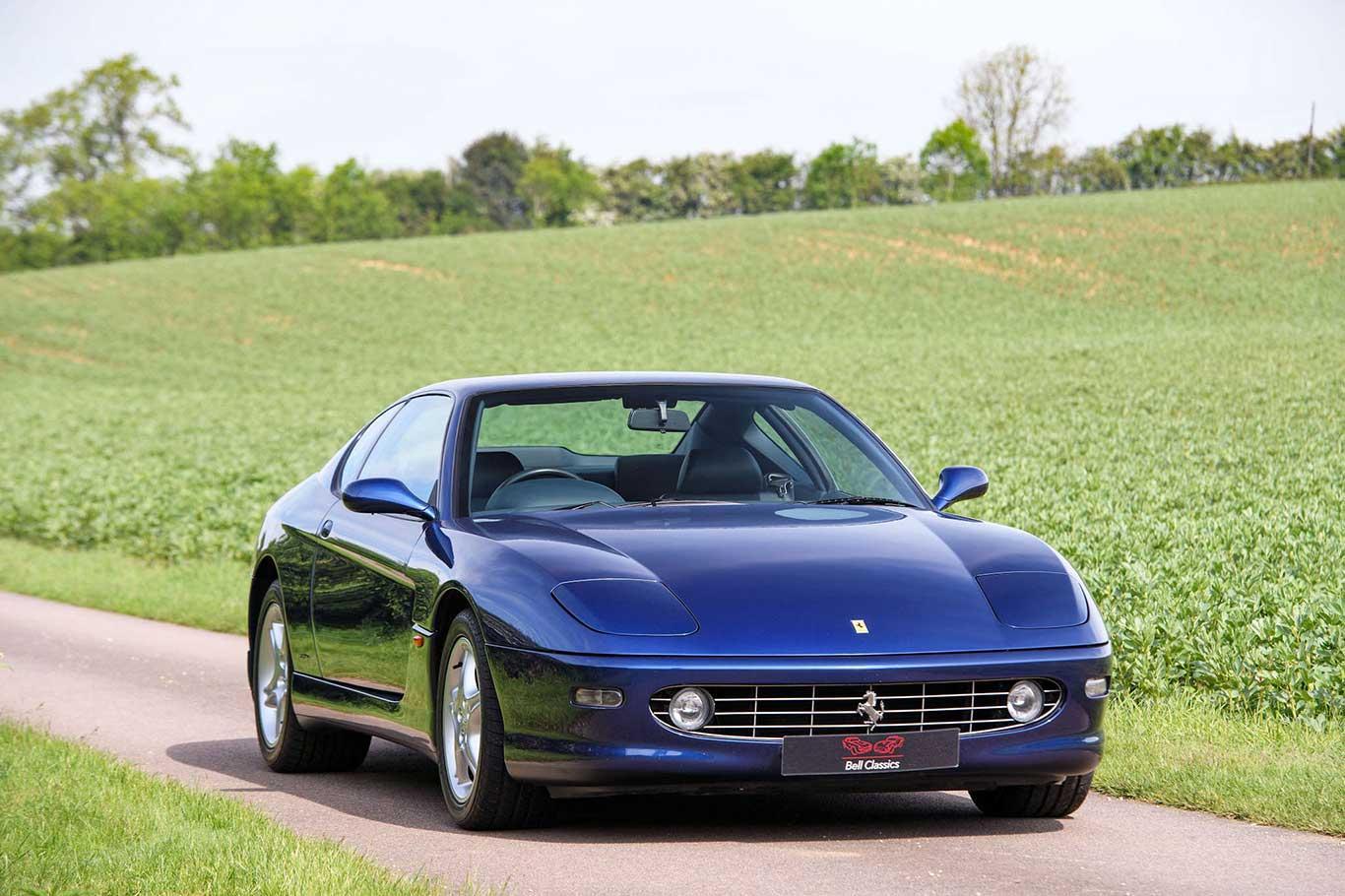 2003 Ferrari 456M GTA RHD #6